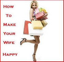 How to make a wife happy